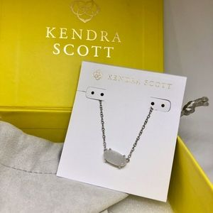 NWT Kendra Scott Iridescent Drusy Necklace